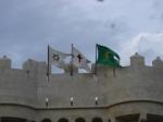 las tres banderas