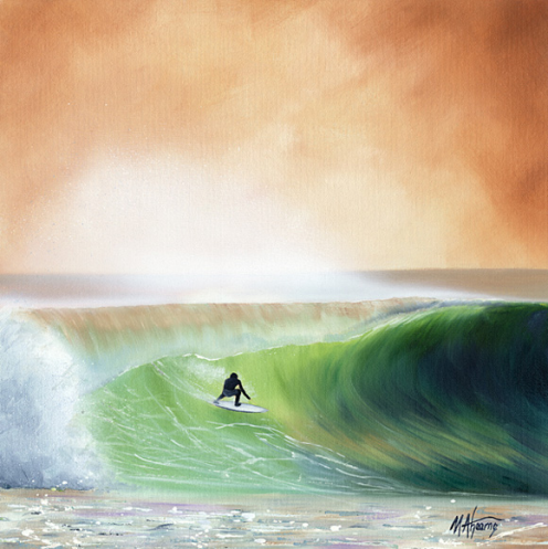 surf artist michael ahearne