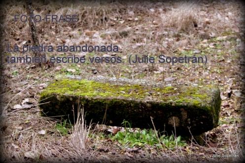 La piedra abandonada...