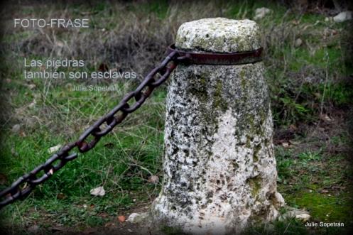 Las piedras también son esclavas