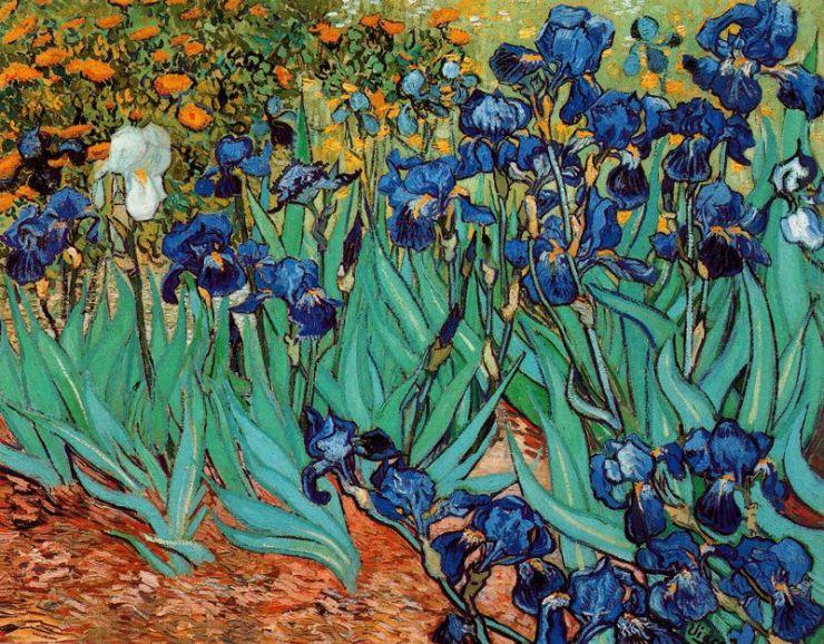 Lirios-Van-Gogh-1889