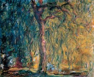 Sauce llorón_1919_Monet